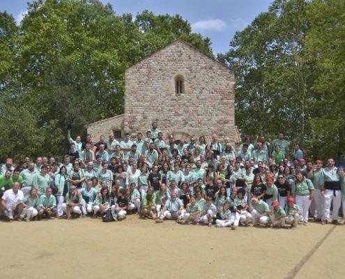 Foto de familia a Gallecs